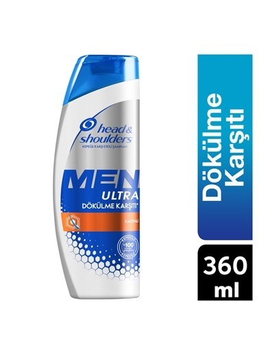 Head & Shoulders Head Shoulders Men Ultra Şampuan Dökülmelere Karşı 500 Ml Renksiz
